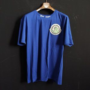 Palm Angels Bright Navy Blue NWT Tshirt For Men